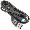 NOKIA CA-179 GYÁRI FEKETE ADATKÁBEL MICRO USB 70CM