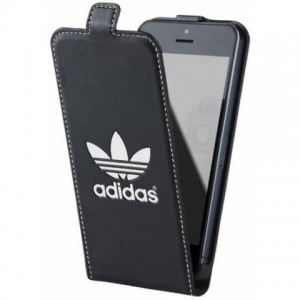 ADIDAS B00050 IPHONE5,5S FEKETE FLIPTOK DOBOZOS