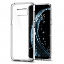 Spigen Ultra Hybrid Samsung Galaxy S8+ hátlaptok Crystal Clear