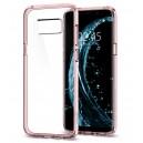 Spigen Ultra Hybrid Samsung Galaxy S8+ hátlaptok Crystal Pink
