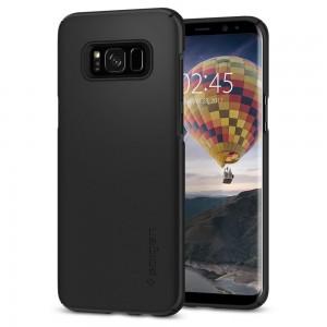 Spigen Thin Fit Samsung Galaxy S8+ hátlaptok fekete