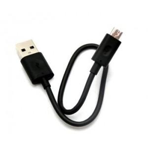 NOKIA CA-189CD GYÁRI FEKETE ADATKÁBEL MICRO USB 70CM