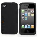 TECH21 T21-1238 IMPACT GEL CASE FEKETE IPHONE 4,4S SZILIKON TOK DOBOZOS